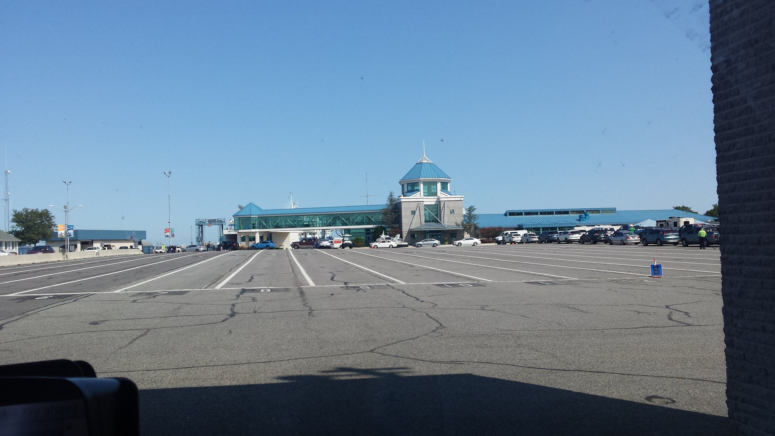 We drove the RV right onto the ferry along with 130 others!