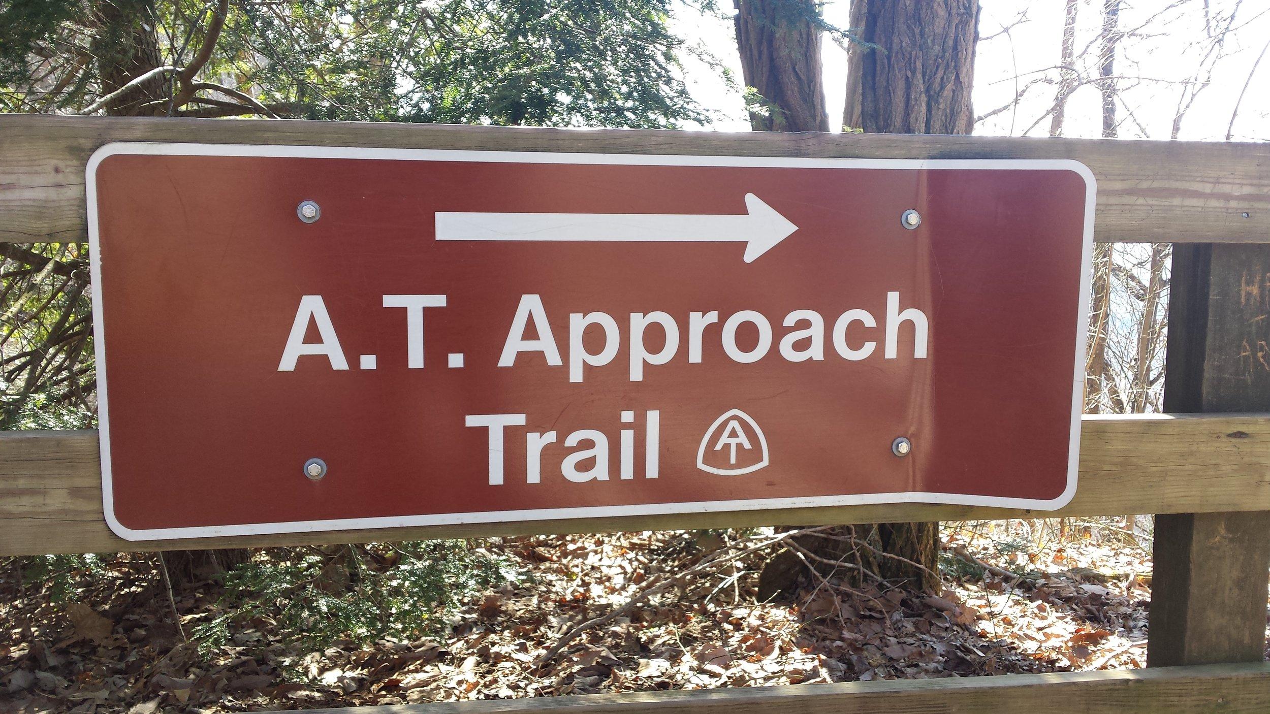Appalacian Trail access at Amicalola State Park, Georgia