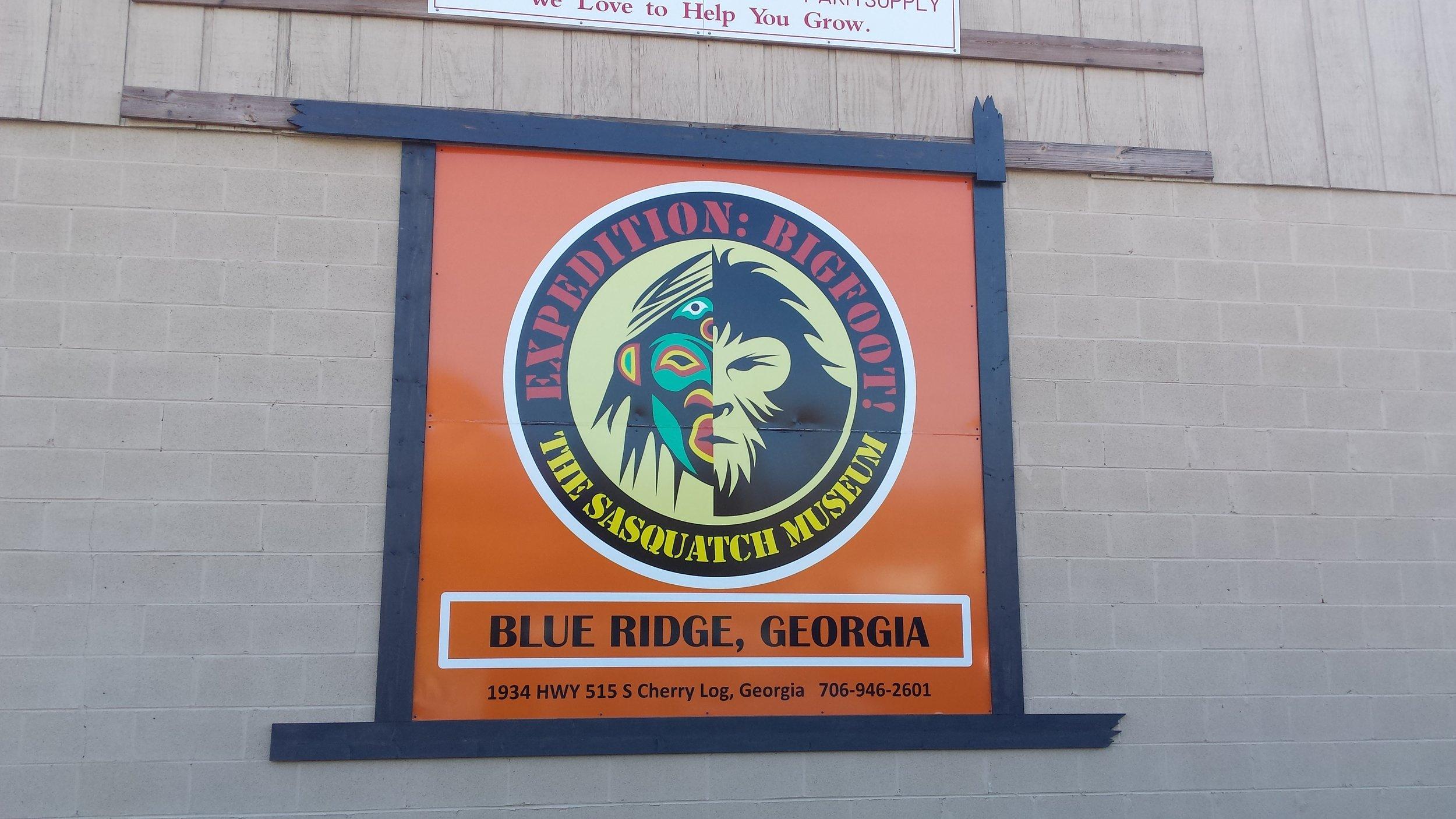 Big Foot Museum! Sounds like fun in Blue Ridge, Georgia