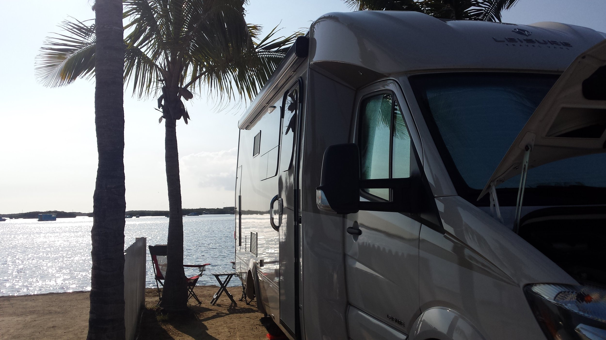 Bayside campsite at Boyd's in Key West