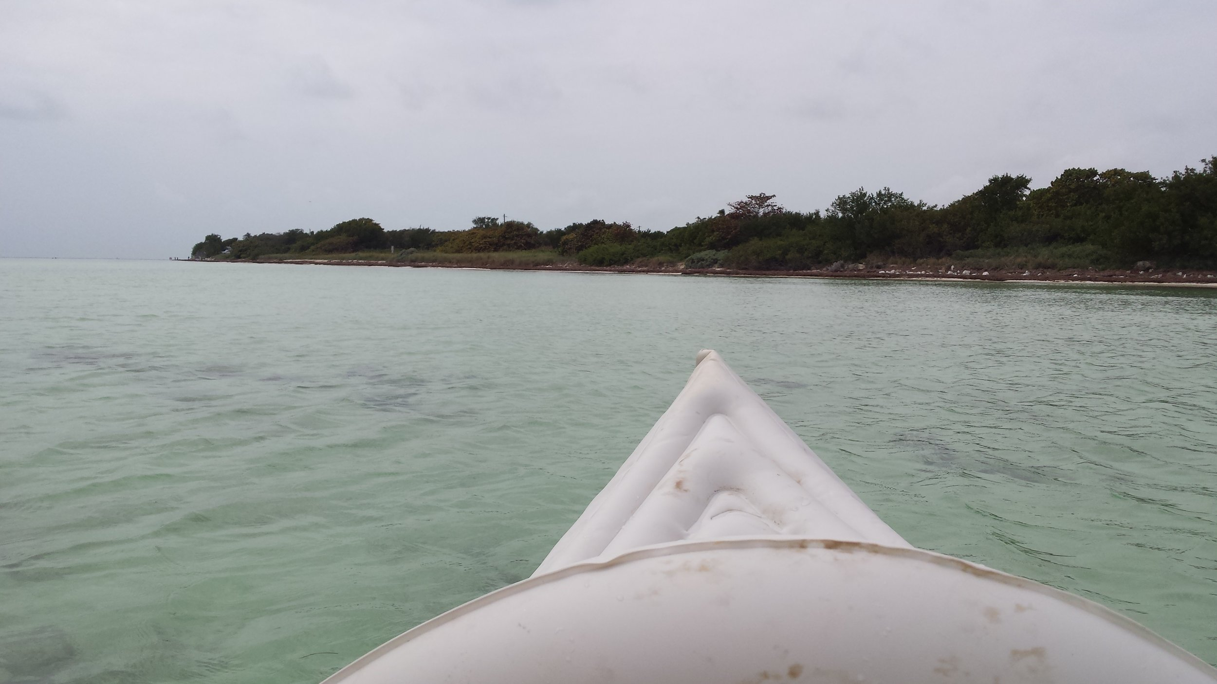 View of Bahia Honda from my kayak