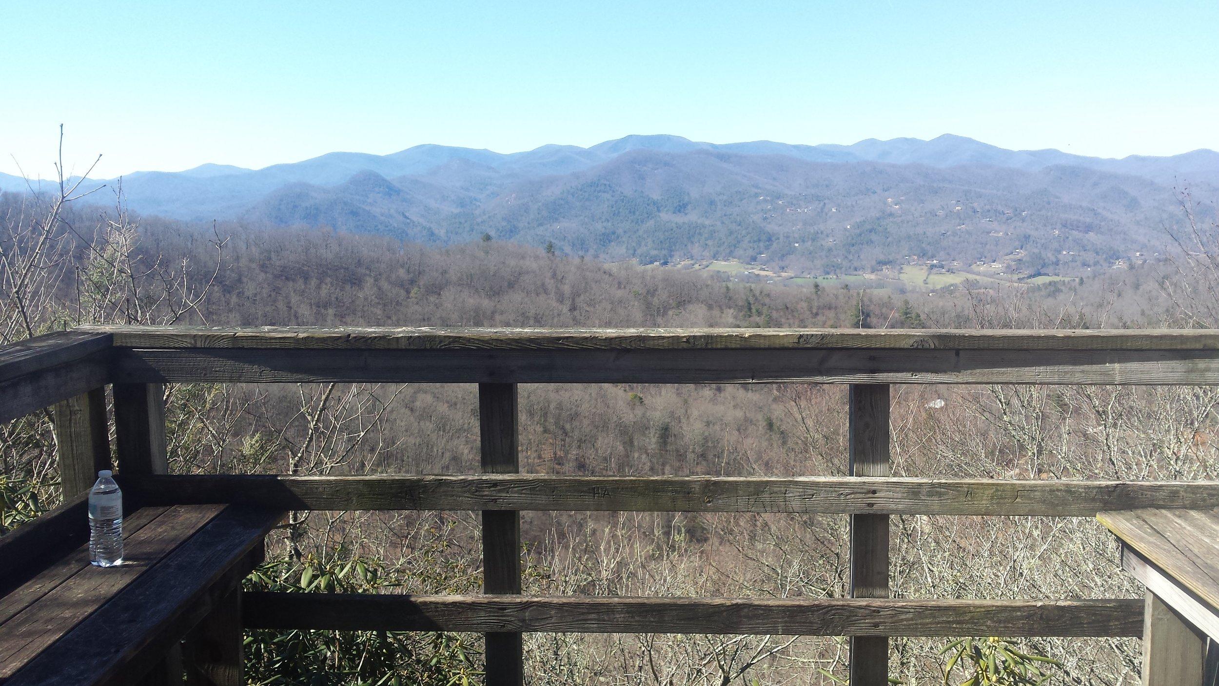 Overlook at Black Rock Mountain