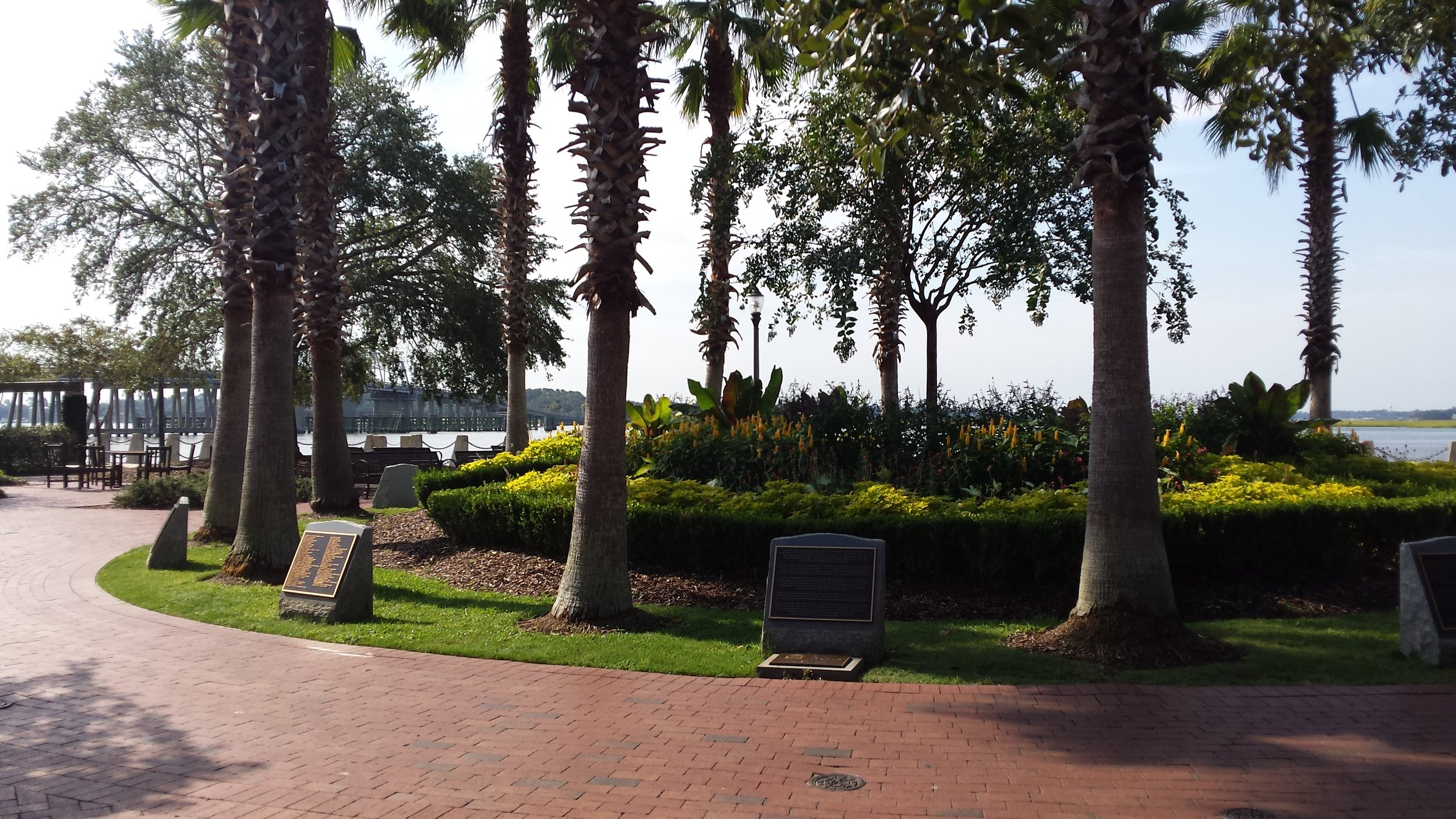 Henry C. Chambers Waterfront Park in Beaufort, South Carolina