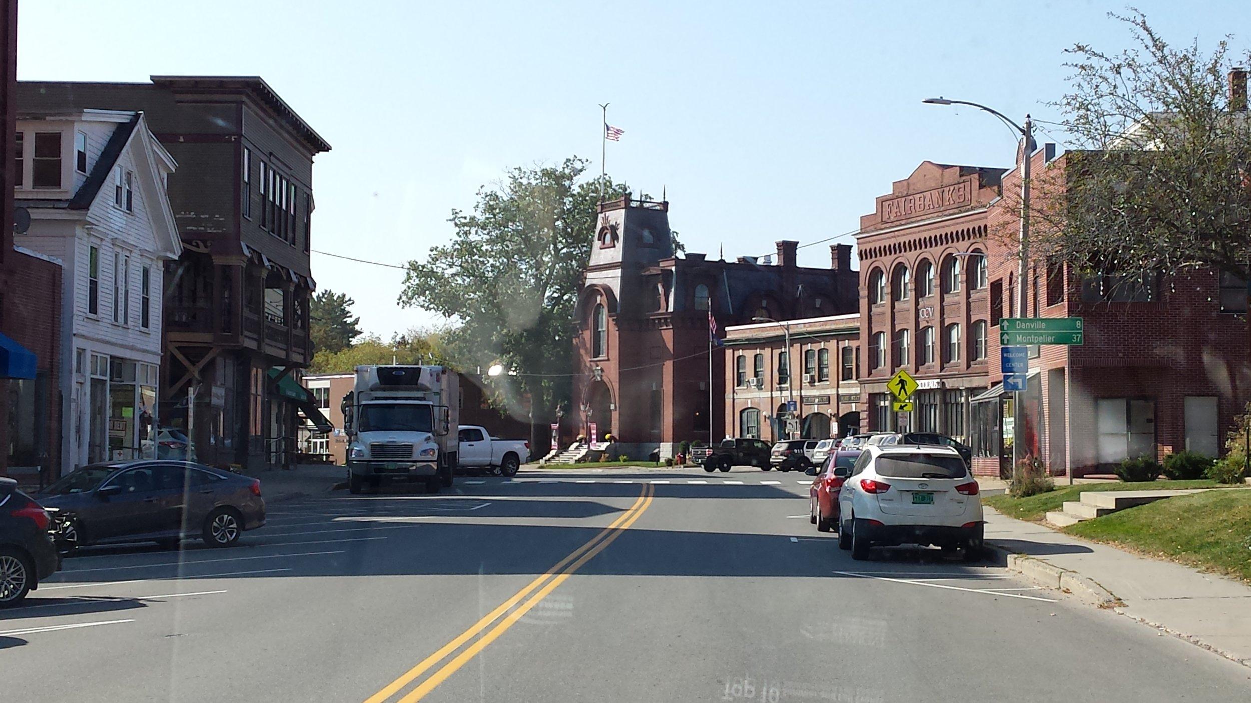 Downtown St. Johnsbury, VT