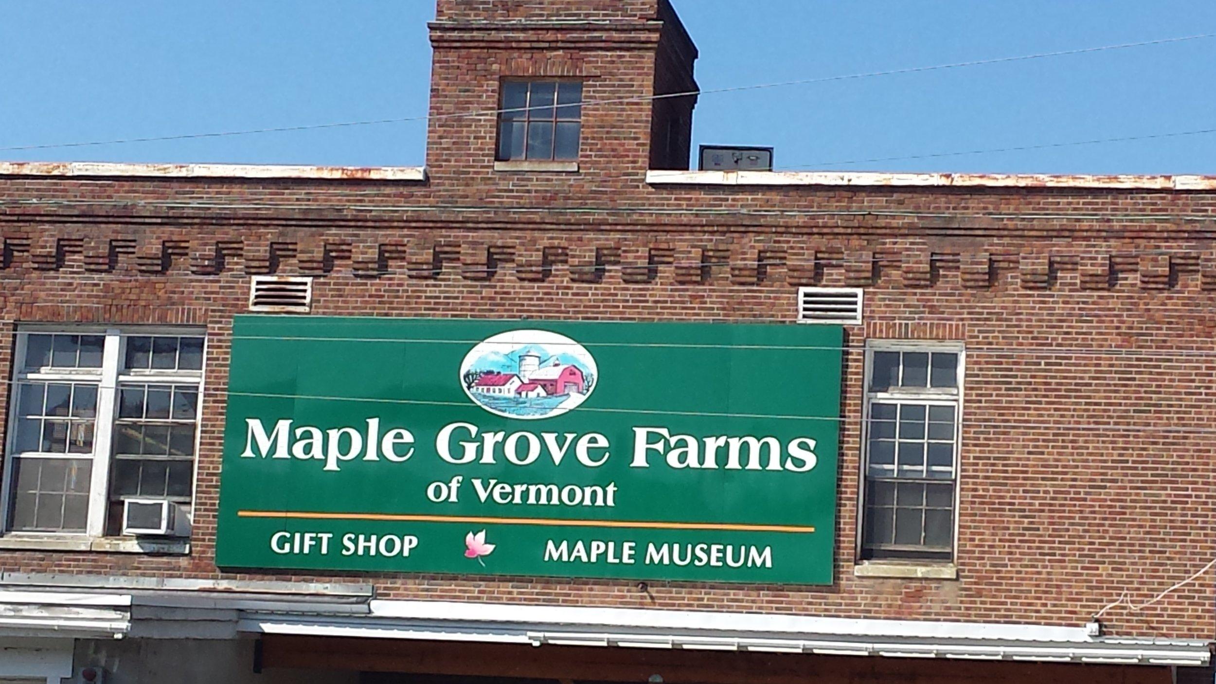 Maple Sugar Museum in St. Johnsbury, VT