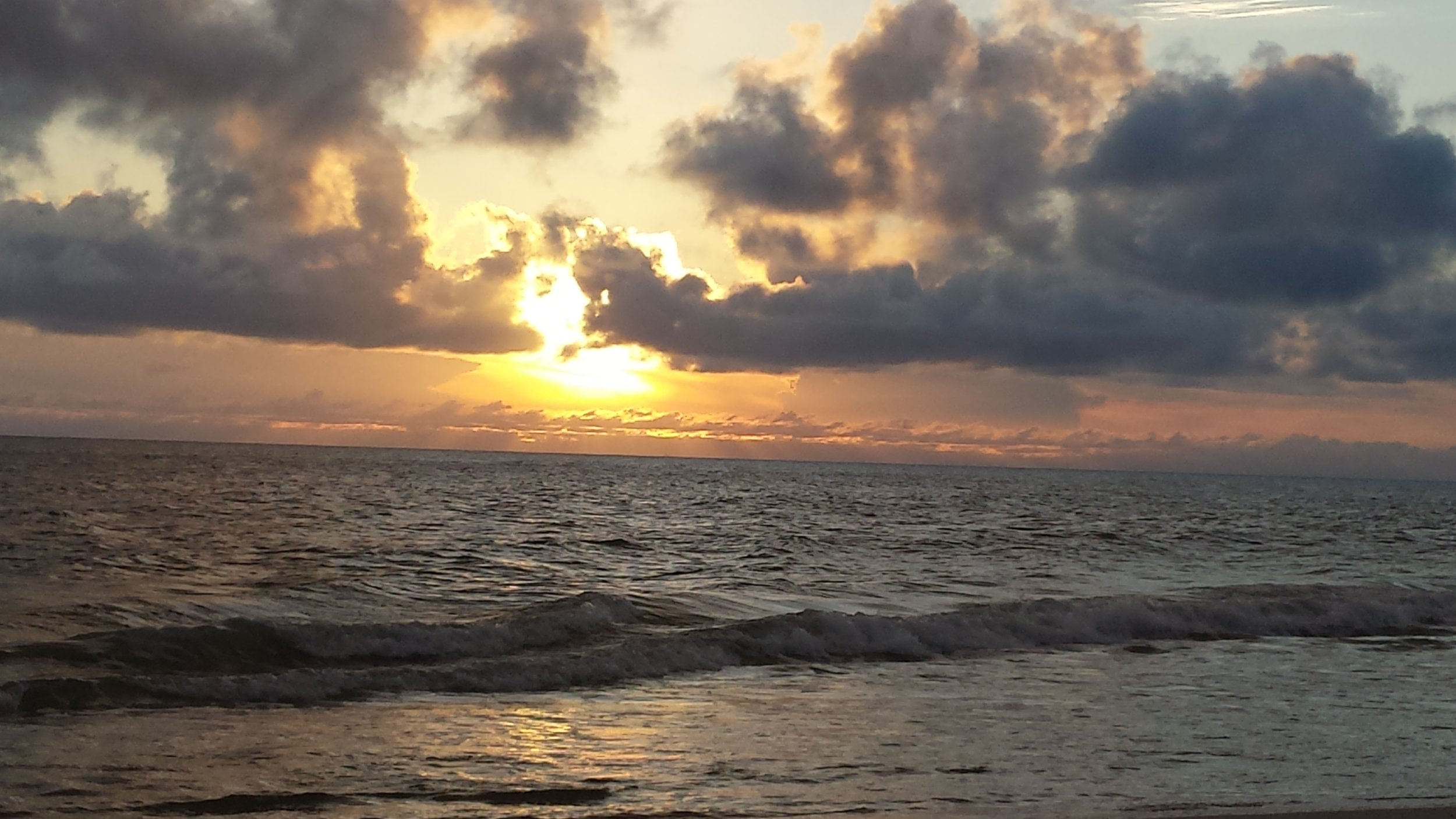 Cape San Blas sunset as the storm approaches.
