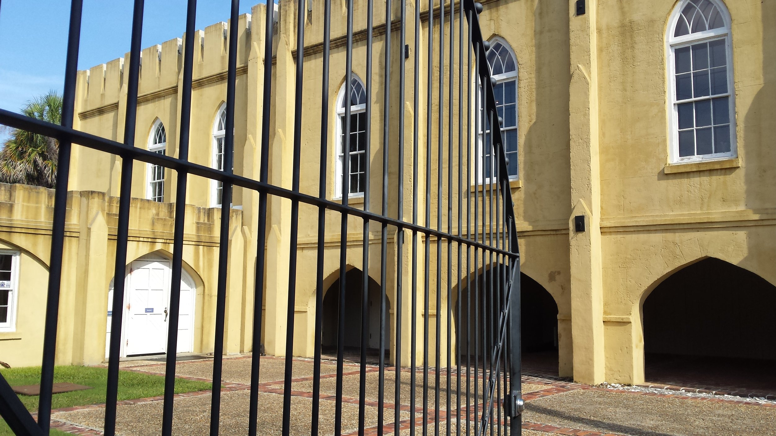 Old Armory at Beaufort South Carolina