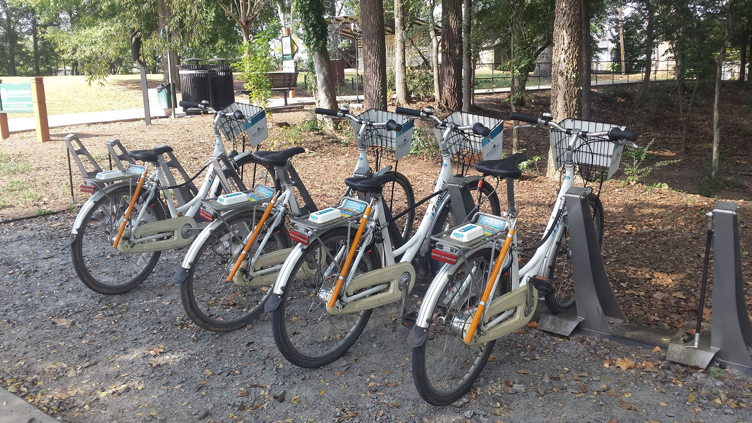 Bike Share for riding the Greenprints Trail