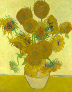 Vincent Van Gogh, Sunflowers 4th Version, 1888, National Gallery London