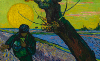 Vincent Van Gogh, The Sower, 1888, Van Gogh Museum Amsterdam