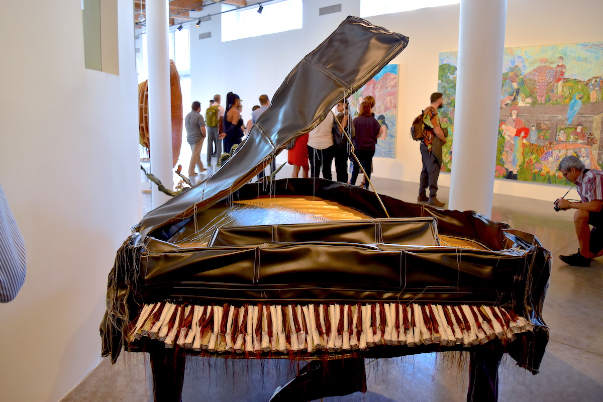 Margarita Cabrera,  Baby Grand Piano , 2005, Image: Ben Davis, Courtesy of  artnet.com  2017