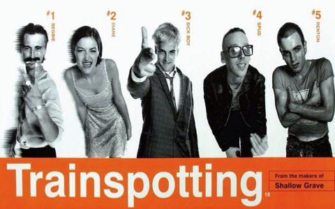 Danny Boyle,  Trainspotting,  1996, Image: Film4 Productions, Courtesy of  www.cinemaparrotdisco.com