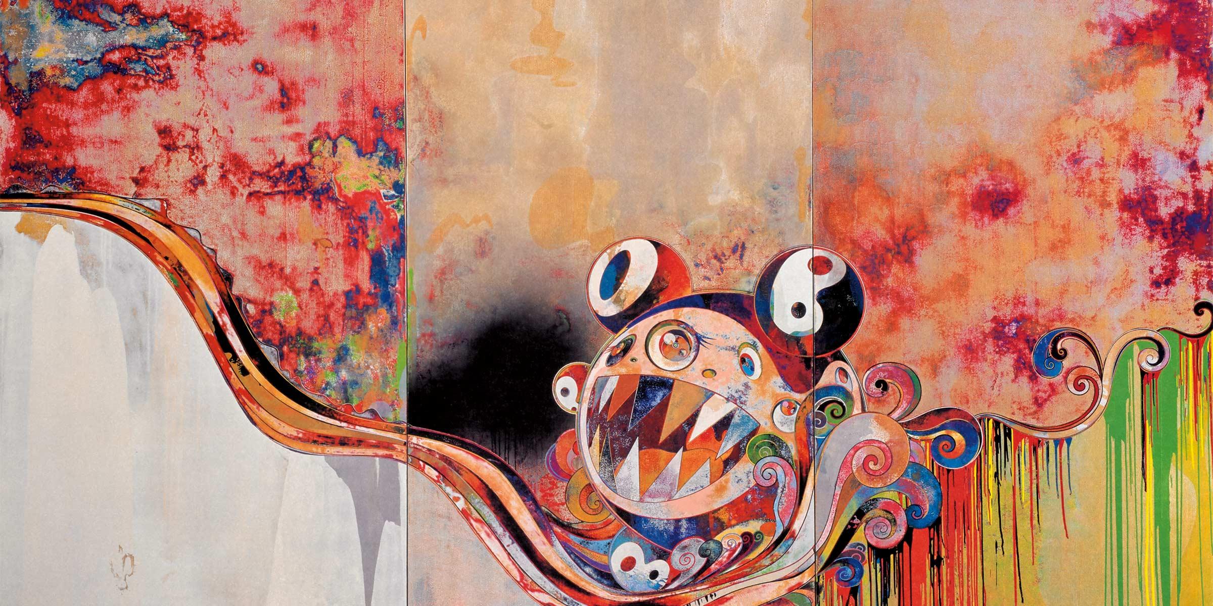 Takashi Murakami, 727-272, 2007.  http://martinlawrence.com/takashi-murakami/