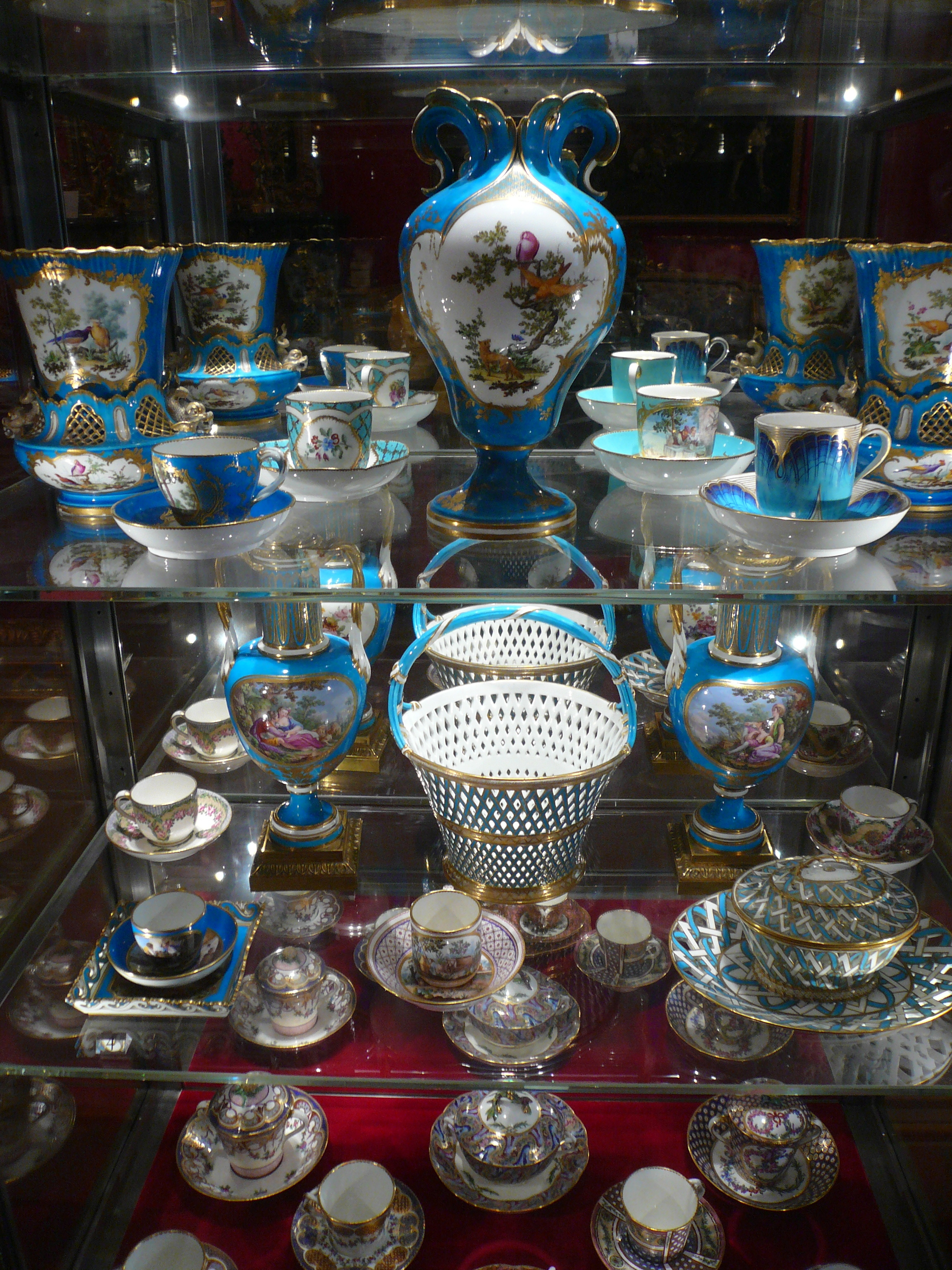 Sèvres porcelain in the Wallace Collection, London, May 2017, photograph author's own.