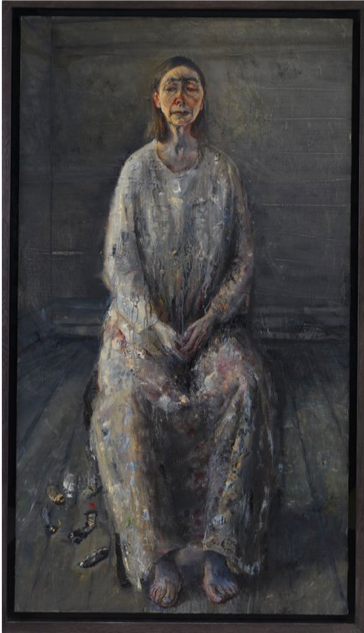 Celia Paul, Painter and Model, 2012. SOURCE:  The New York Times.