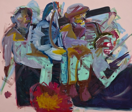 Carla Busuttil,  Another Coin for the Bog Baron Merry-go- round, 2012.Oil on canvas. Courtesy of Goodman Gallery.  http://www.goodman-gallery.com/artists/carlabusuttil
