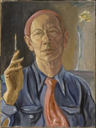E.E. Cummings,  Self Portrait , 1962, 50.8 x 38.1 x 2.5cm,National Portrait Gallery, Smithsonian Institution  http://npg.si.edu/object/npg_NPG.73.26
