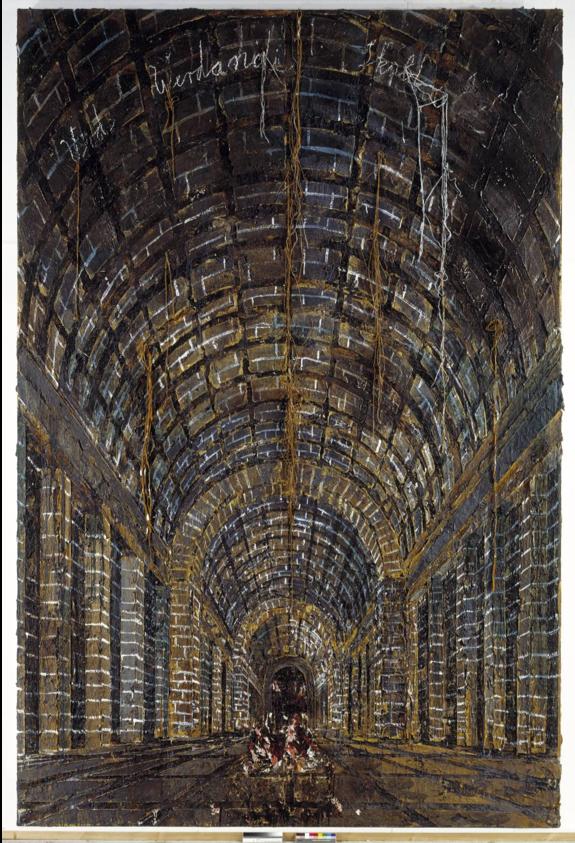 Anselm Kiefer, Urd, Werdandi, Skuld (The Norns), 1983 (Tate Modern)   https://www.tate.org.uk/art/artworks/kiefer-urd-verdandi-skuld-the-norns-ar00036