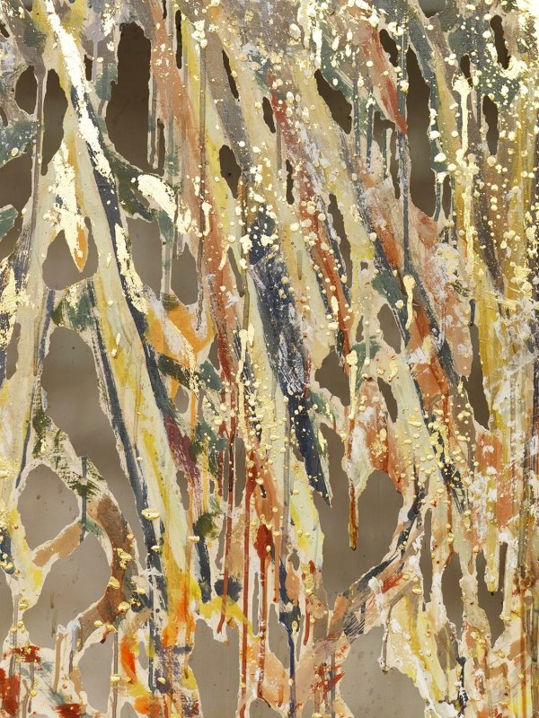 Diana Al-Hadid, Detail  Attack , 2015, NYUAD Art Gallery.  Photo: Matt Grubb. Courtesy of the artist and Marianne Boesky Gallery, New York.  https://www.nyuad-artgallery.org/en_US/exhibitions/diana-al-hadid/ .