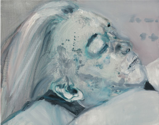Marlene Dumas,  Dead Marilyn,  2008, oil on canvas, Private Collection, New York.  https://www.moma.org/audio/playlist/226/2923