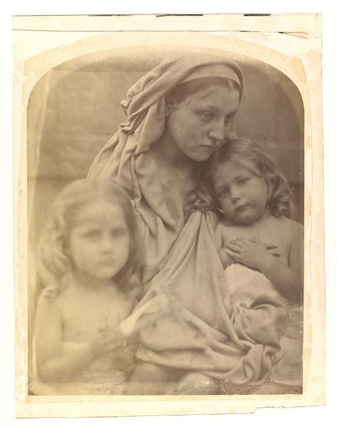 Julia Margaret Cameron,  Love , 1864, albumen print, 26.3 x 20.7cm, V&A, London.  http://collections.vam.ac.uk/item/O98841/love-photograph-cameron-julia-margaret/