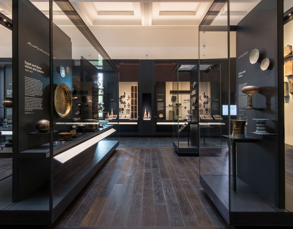 The Albukhary Foundation Gallery of the Islamic World at the British Museum, 2018© Trustees of the British Museum.   https://www.theartnewspaper.com/review/british-museum-s-islamic-art-finally-gets-its-fairy-tale-ending