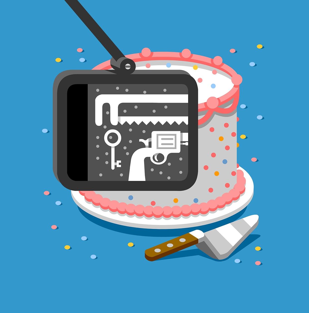 Jailbreak Cake Mental Floss AD: Winslow Taft