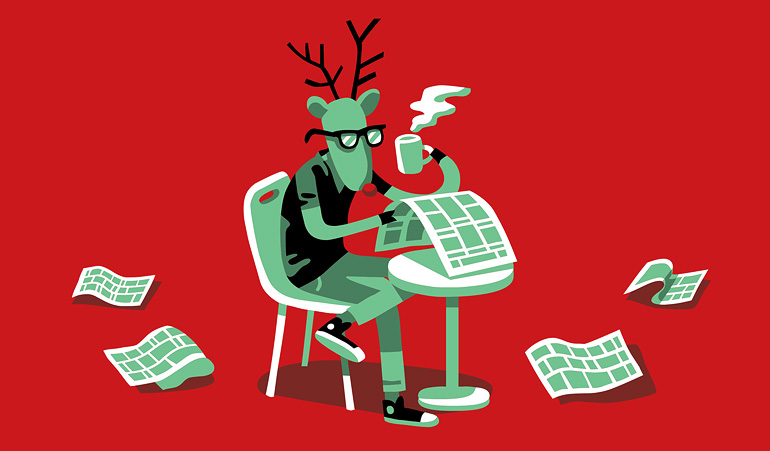 Hipster Rudolph Drip for Drip AD:Wijtze Velkema