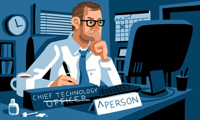 Chief Technology Person CEO Magazine AD: Hamilton Hedrick