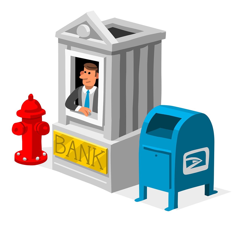 Pop-Up Banking Money Magazine AD: Patricia Alvarez