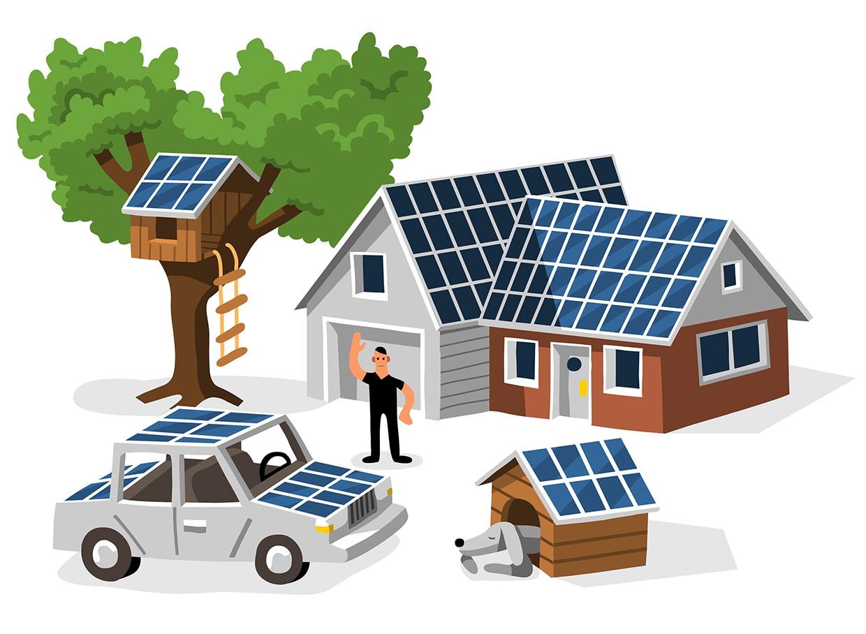 Solar Boom Money Magazine AD: Patricia Alvarez