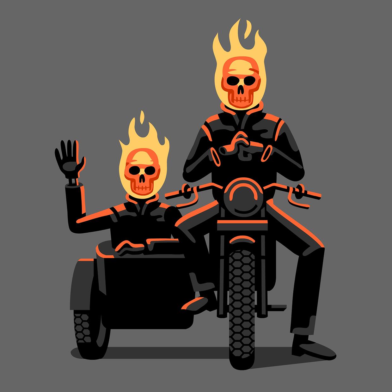 Ghost Rider & Son
