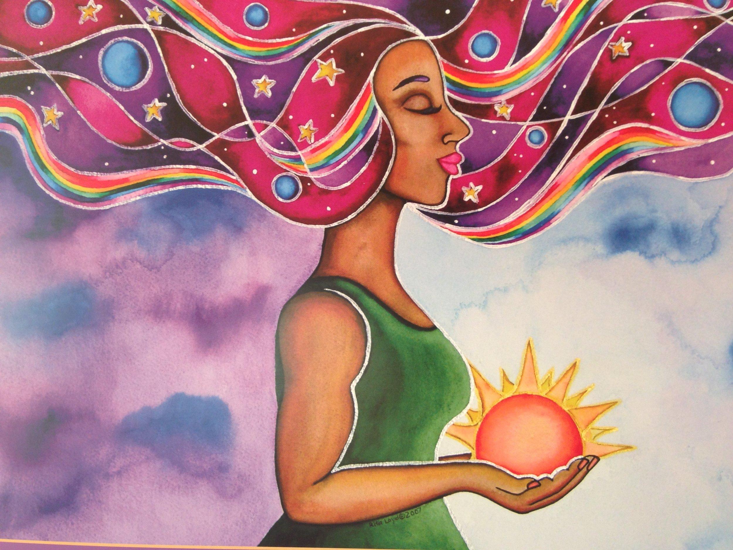 Empowered , © 2007  Rita Loyd