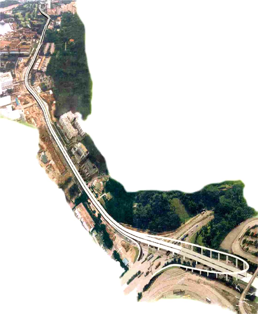 Telok Blangah Semi-Expressway, Singapore