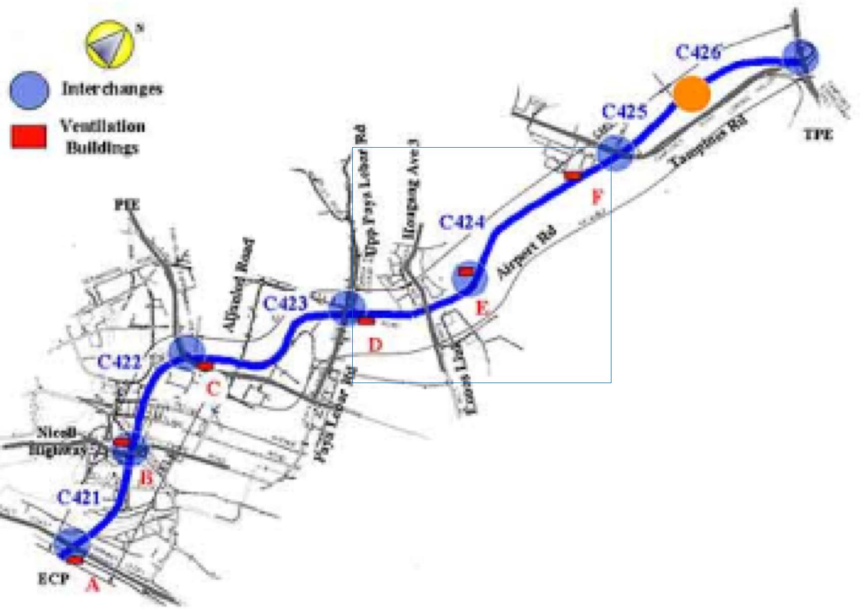 Kallang Paya Lebar Expressway, Singapore