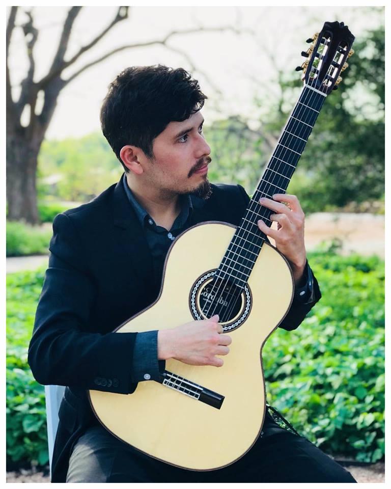 Alan Retamozo, guitarist/composer/coordinator (photo by @hannahrosephotographs -Facebook)