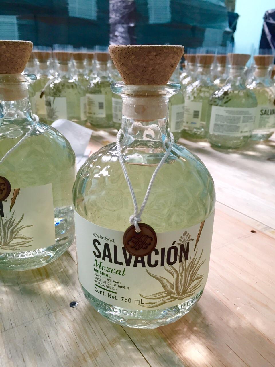 salvacion bottle all ready to go.JPG