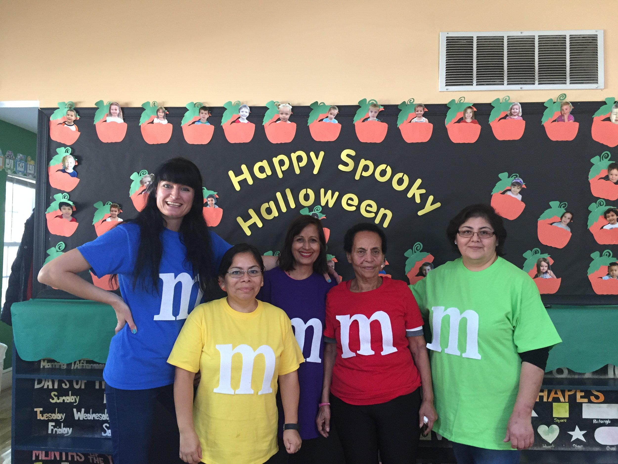 Thanks to our M&M's and all teachers for a spooktacular success at the Halloween Party! Due to the many requests for pictures, we will no longer be sending out individual emails to each parent. Please look for information about a secure and private website to access your child's photos.