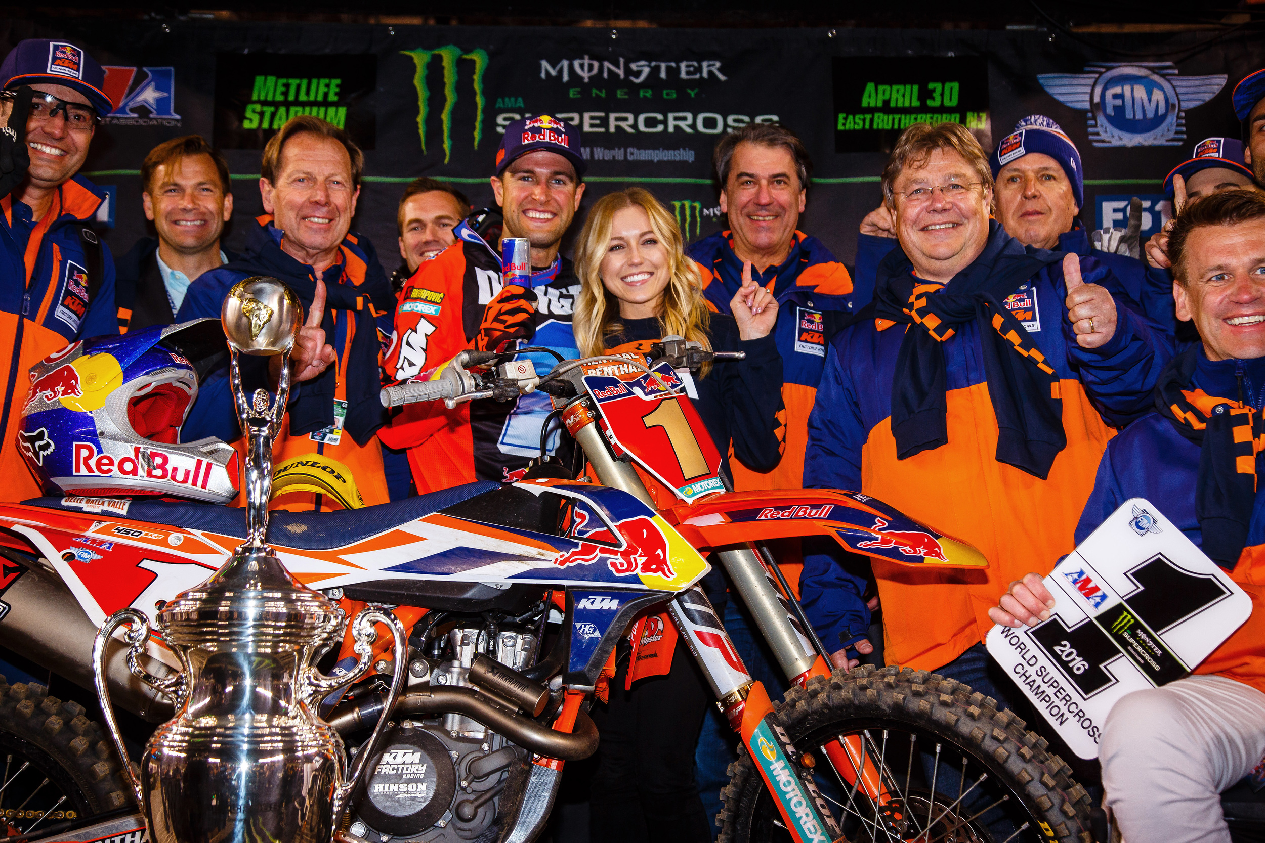 Ryan Dungey and KTM 2016 AMA Supercross Champions