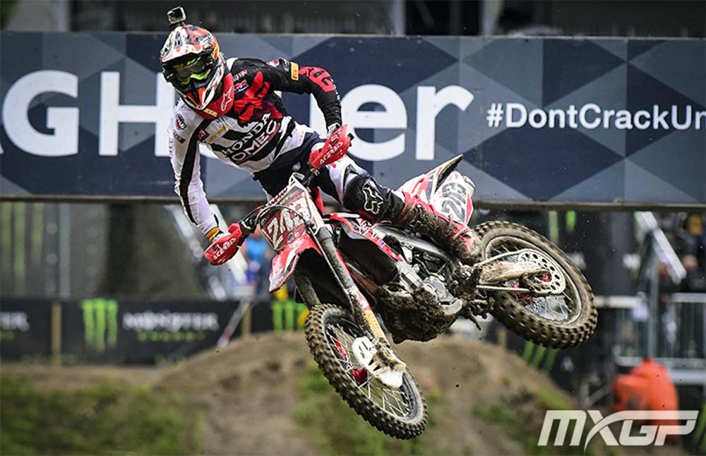 Tim Gajser in Spain, photo MXGP