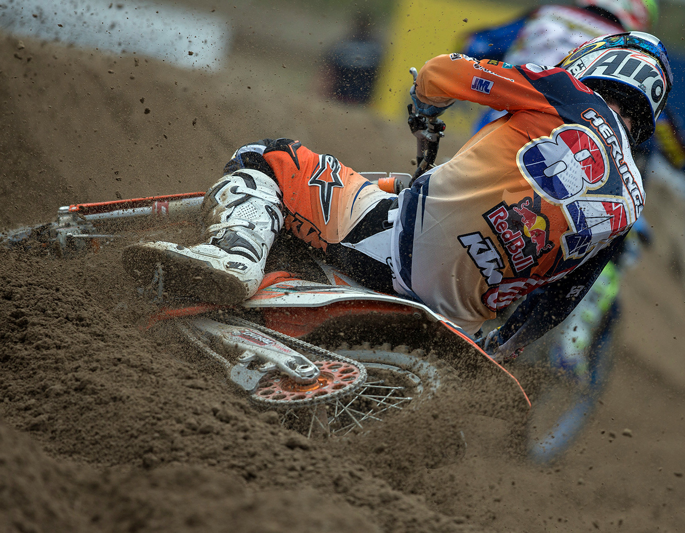 Jeffrey Herlings of the Red Bull KTM team :: photo KTM / R Archer