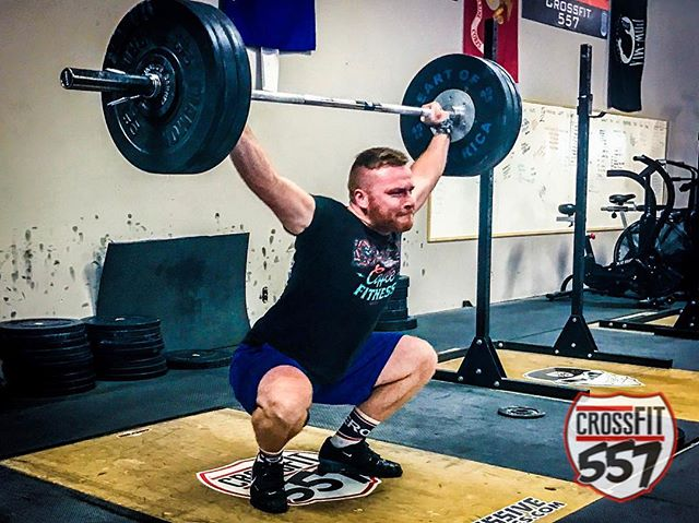 Make fitness the best hour of your day!  #trusttheprocess #crossfit557 Athlete - @luke_lamoreaux