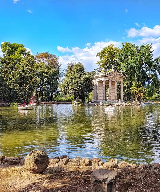 The Borghese Gardens, one of my favorite Roman spots 🇮🇹 #forbusinessorpleasure #rome #italy