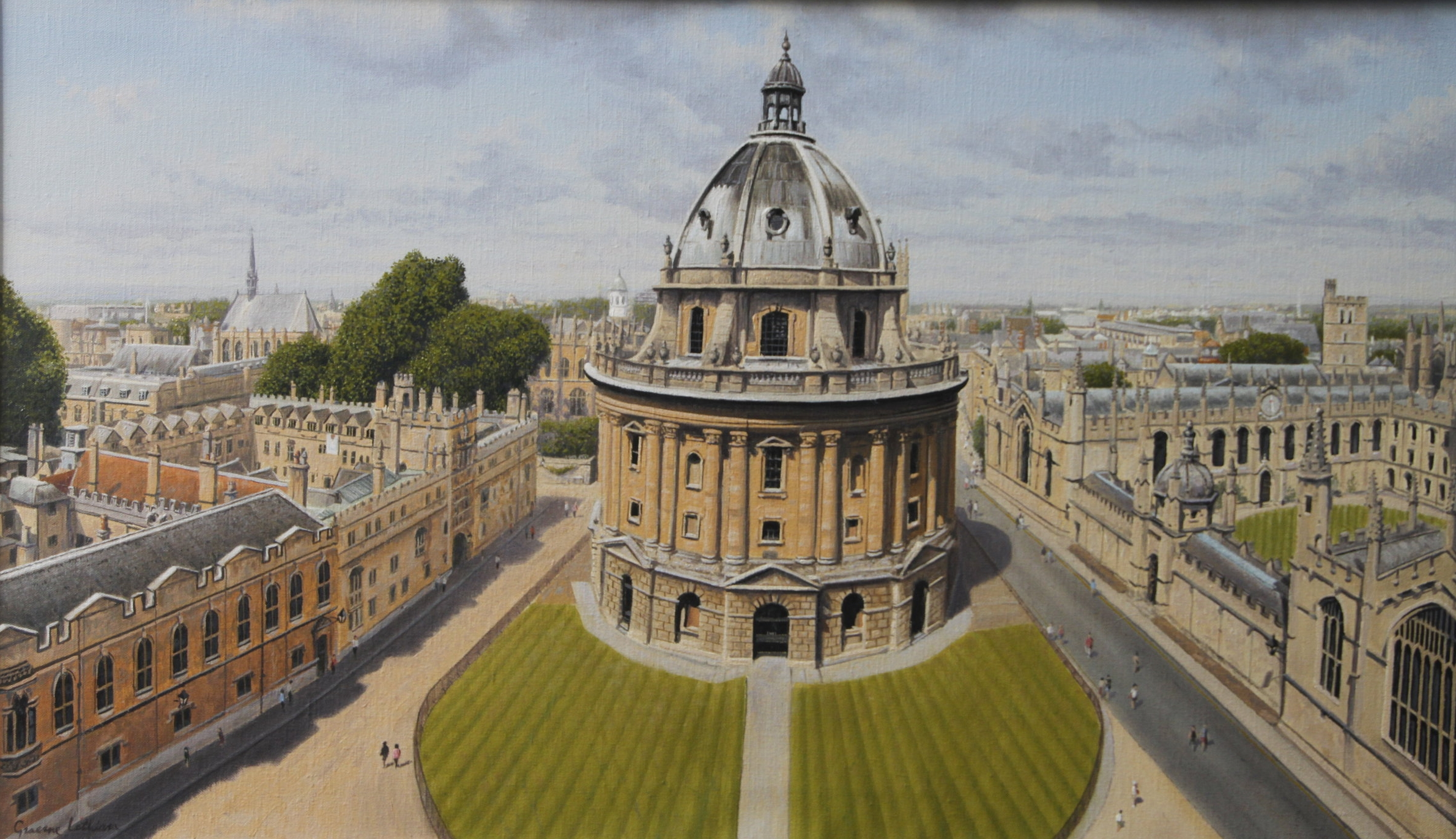 Oil on Canvas, Oxford