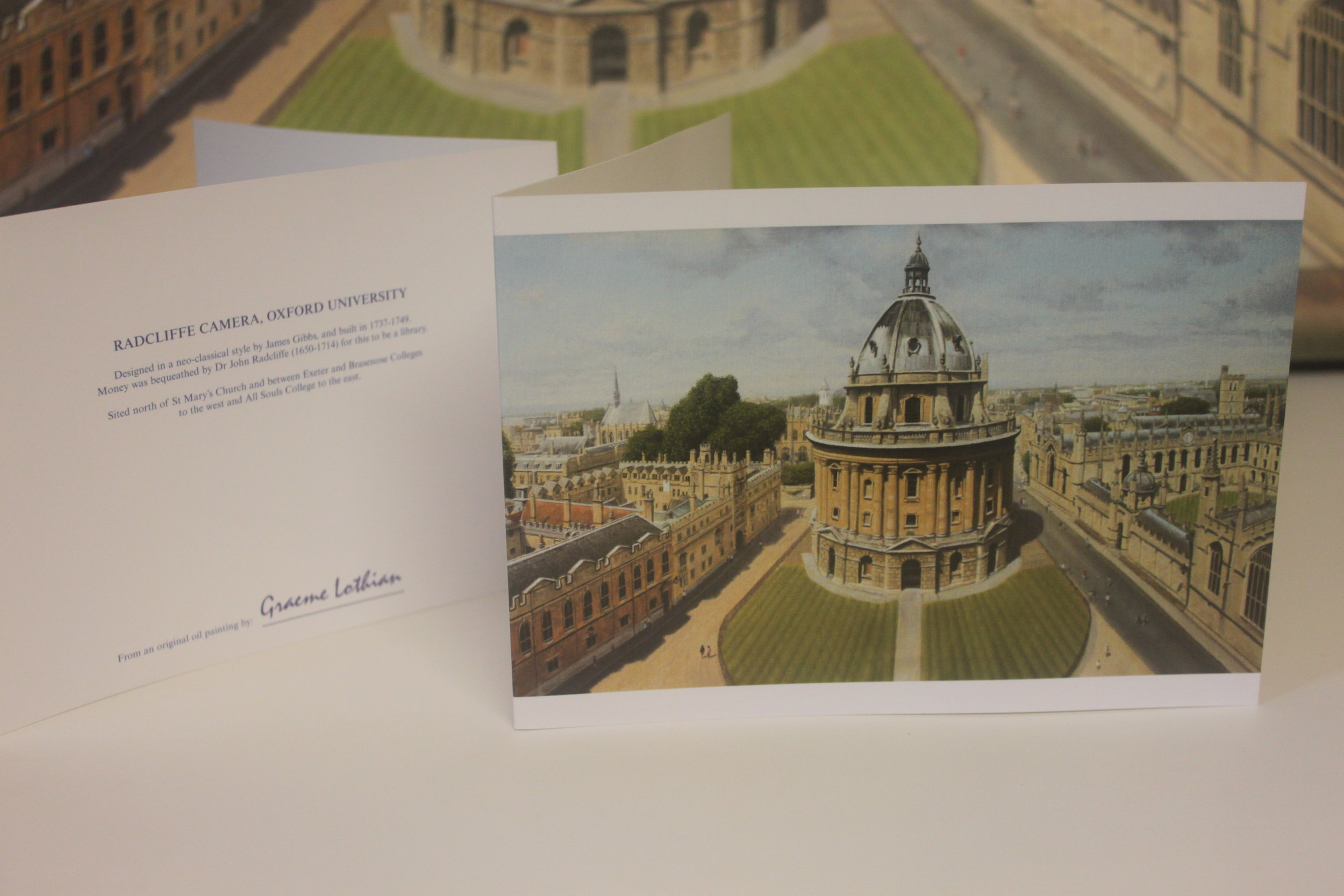 Oxford, Oxfordshire (Card Print)