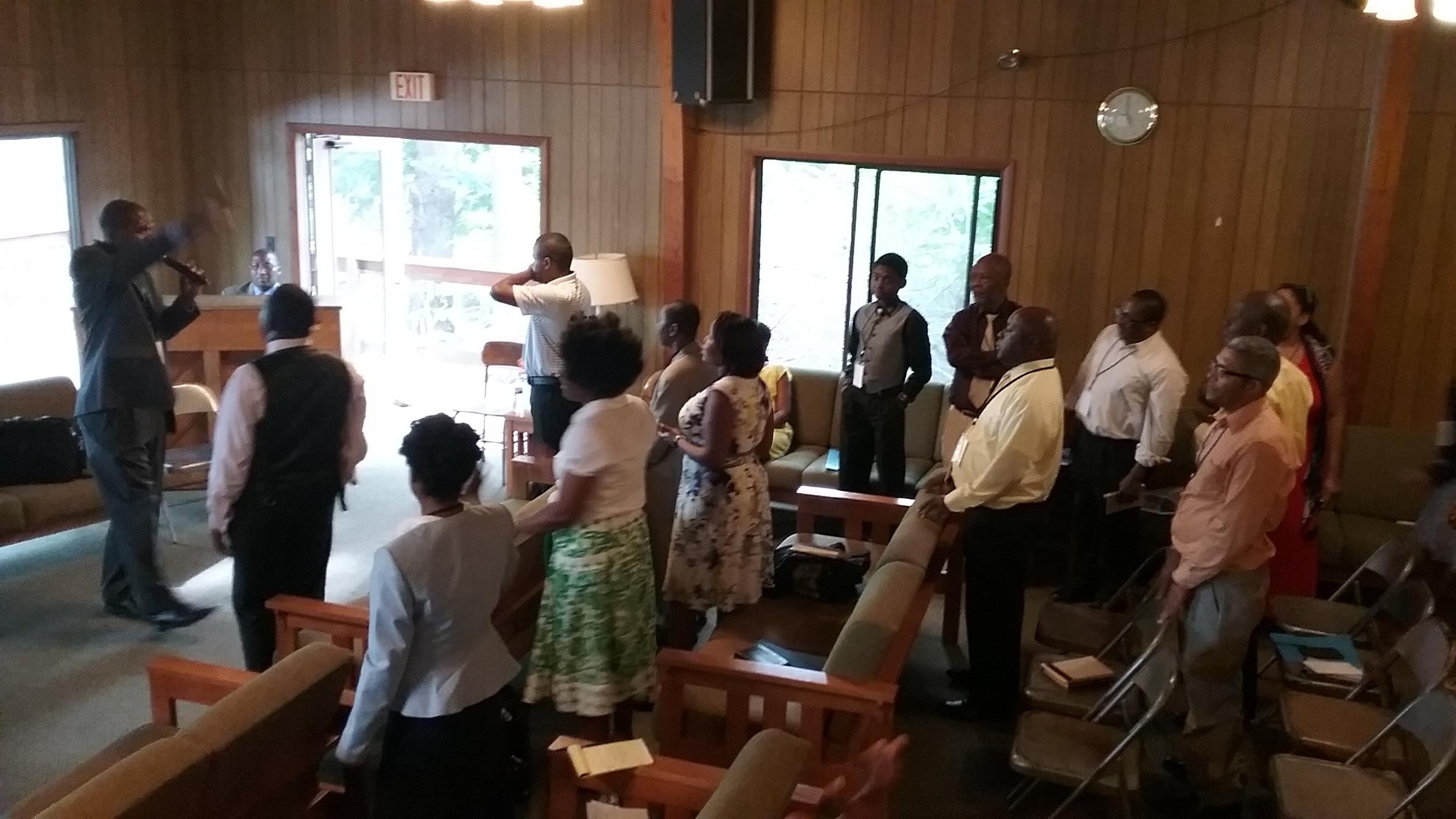 Haitian Creole training at Camp Winnekeag