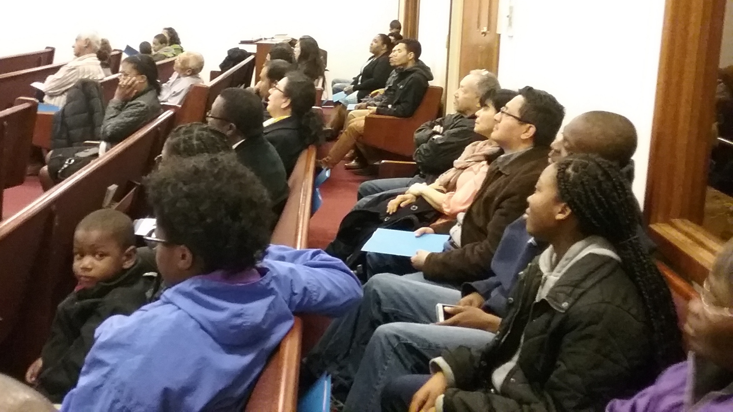 Spanish-language Bible Work training at the Salem Hispanic Church