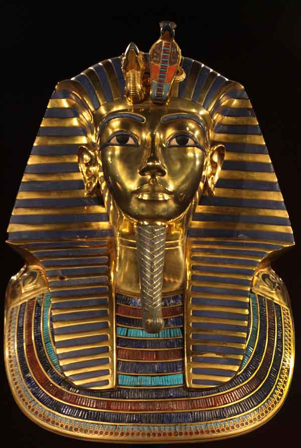 King Tut Death Mask, © Joanne DiBona