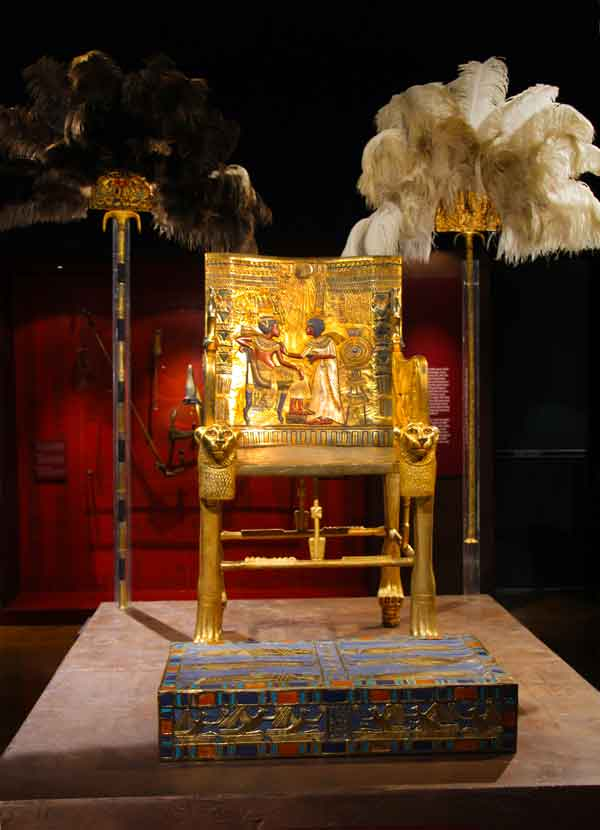 King Tut Royal Throne          © Joanne DiBona