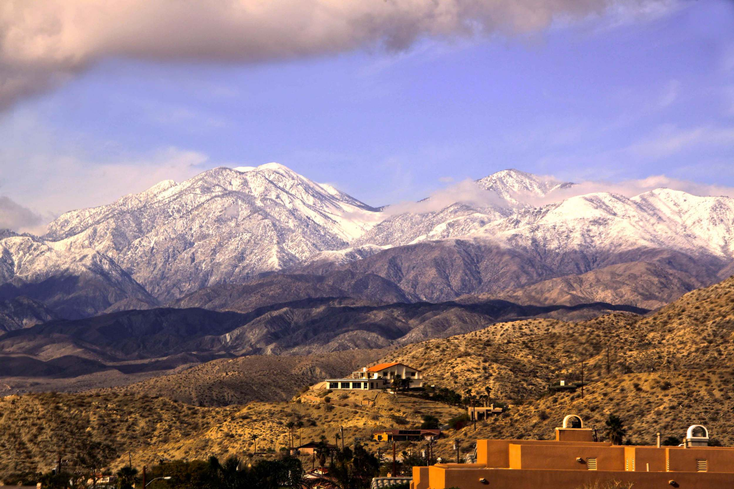 View Over Desert Hot Springs onto San Bernardino Mountains     © Joanne DiBona